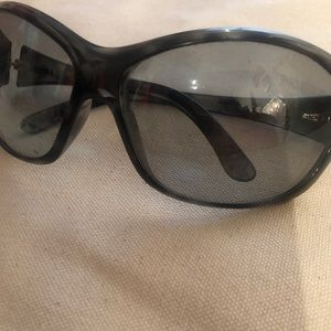 PRADA VINTAGE,Sunglasses worn in large lens ,as is